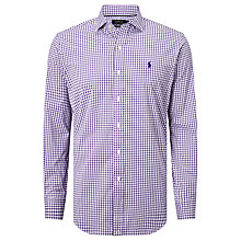 Buy Polo Golf by Ralph Lauren Check Performance Shirt Online at johnlewis.com