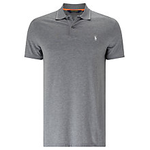 Buy Polo Golf by Ralph Lauren Short Sleeve Polo Shirt, Classic Grey Heather Online at johnlewis.com