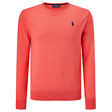 Buy Polo Golf by Ralph Lauren Long Sleeve Crew Neck Jumper Online at johnlewis.com