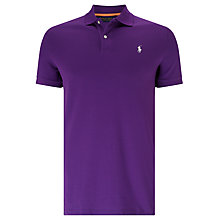 Buy Polo Golf by Ralph Lauren Custom-Fit Stretch Mesh Polo Shirt Online at johnlewis.com