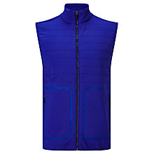 Buy Polo Golf by Ralph Lauren Panelled Ripstop Gilet, Flag Royal Online at johnlewis.com