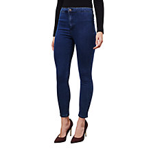 Buy Miss Selfridge Petite Steffi Super High Waist Skinny Jeans Online at johnlewis.com