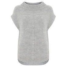 Buy Mint Velvet Side Zip Tabard, Silver Grey Online at johnlewis.com