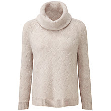 Buy Pure Collection Hadleigh Luxury Cashmere Jumper, Marble Twist Online at johnlewis.com