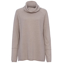 Buy French Connection Angelina Cowl Neck Knit Top, Light Oatmeal Online at johnlewis.com