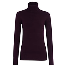 Buy French Connection Babysoft Solid Turtleneck Jumper Online at johnlewis.com