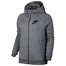 Buy Nike Sportswear Rally Hoodie, Grey Online at johnlewis.com