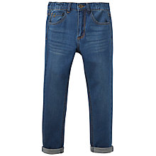 Buy Little Joule Boys' Junior Ted Jeans, Blue Denim Online at johnlewis.com