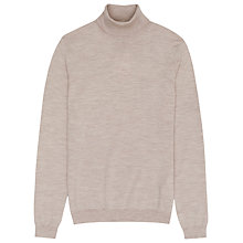 Buy Reiss Observe Roll Neck Jumper, Oatmeal Online at johnlewis.com