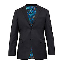 Buy Ted Baker Cotlinj Wool Tailored Fit Suit Jacket, Charcoal Online at johnlewis.com