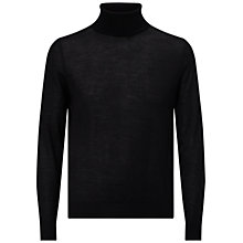 Buy HUGO by Hugo Boss San Antonio Polo Roll Neck Jumper Online at johnlewis.com