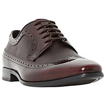 Buy Dune Rhino Saffiano Derby Brogue Shoes Online at johnlewis.com