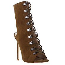 Buy Steve Madden Kennee Lace Up Stiletto Sandals Online at johnlewis.com