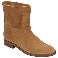 Buy John Lewis Oprah Pull On Ankle Boots, Tan Online at johnlewis.com
