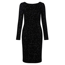 Buy Hobbs Sawyer Dress, Black Online at johnlewis.com