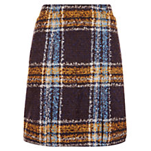 Buy Hobbs Briony Skirt, Navy/Multi Online at johnlewis.com