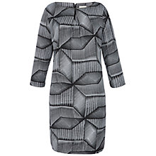 Buy Celuu Sinead Diamond Print Dress, Grey Online at johnlewis.com