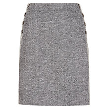 Buy Hobbs Janelle Skirt, Grey Online at johnlewis.com