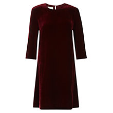 Buy Hobbs Agnes Velvet Dress Online at johnlewis.com