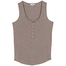 Buy Fat Face Avebury Rib Vest Online at johnlewis.com