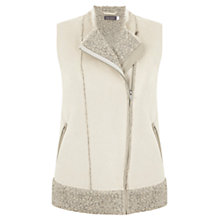 Buy Mint Velvet Gilet, Neutral Online at johnlewis.com