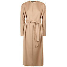 Buy Jaeger Belted Wool Coat, Camel Online at johnlewis.com