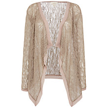 Buy Celuu Sienna Waterfall Cardigan, Gold Online at johnlewis.com