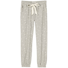 Buy Fat Face Woven Cuffed Lounge Trousers, Grey Online at johnlewis.com