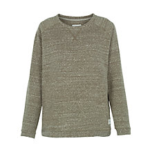 Buy Fat Face Hebe Jumper, Khaki Online at johnlewis.com