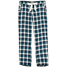 Buy Fat Face Ditteridge Quilted Check Pyjama Bottoms, Dragonfly Online at johnlewis.com