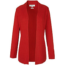 Buy Fat Face Chancel Cardigan, Flame Online at johnlewis.com