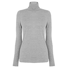 Buy Oasis Wool Mix Polo Top Online at johnlewis.com