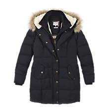 Buy Fat Face Cumbria Long Puffer Coat Online at johnlewis.com