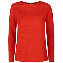 Buy Jaeger Jersey Flecked Top Online at johnlewis.com