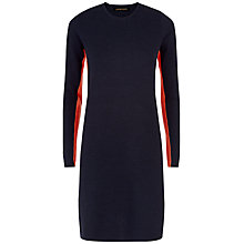 Buy Jaeger Wool Side Stripe Knitted Dress Online at johnlewis.com