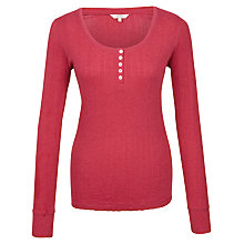 Buy Fat Face Maizey Pointelle Long Sleeve T-Shirt Online at johnlewis.com