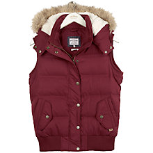 Buy Fat Face Ennerdale Gilet, Navy Online at johnlewis.com