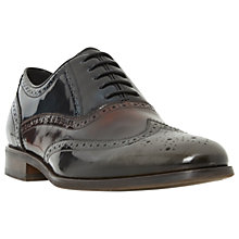 Buy Dune Rugby Brogue Shoes, Multi Online at johnlewis.com