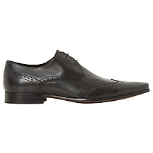 Buy Dune Radar 2 Eye Brogue Shoes, Black Online at johnlewis.com