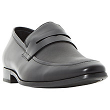 Buy Dune Recruit Loafers, Black Online at johnlewis.com