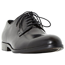 Buy Dune Radio City Derby Shoes, Black Online at johnlewis.com