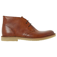 Buy Dune Calabassas Desert Boots, Tan Online at johnlewis.com