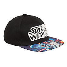 Buy Star Wars Children's Glow In The Dark Cap, Black Online at johnlewis.com
