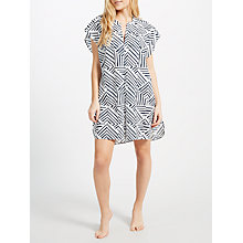 Buy John Lewis Diamond Geo Print Kaftan, Multi Online at johnlewis.com