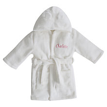 Buy My 1st Years Baby Personalised Fleece Robe Online at johnlewis.com