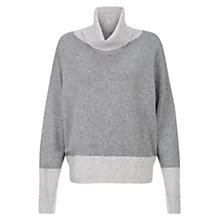 Buy Hobbs Mila Jumper, Grey Nymph Online at johnlewis.com