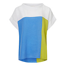Buy East Colour Block Bardot Top Online at johnlewis.com