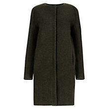 Buy Hobbs Gretchen Coat, Khaki Online at johnlewis.com