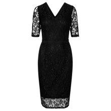 Buy Sugarhill Boutique Logan Lace Shift Dress, Black Online at johnlewis.com