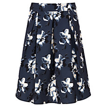 Buy Sugarhill Boutique Floral Fiona Print Skirt, Black Online at johnlewis.com